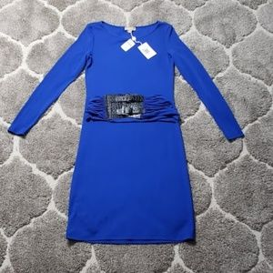 Michael Kors Luxury Collection Belted Dress NEW